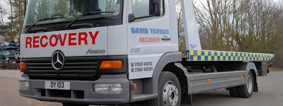 David Yarham 1 New Recovery Lorry